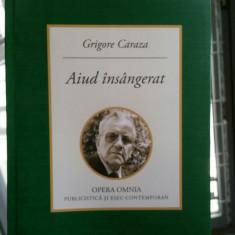 AIUD ÎNSÂNGERAT GRIGORE CARAZA MISCAREA LEGIONARA REZISTENTA ANTICOMUNISTA DEȚIN - Istorie