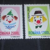 Romania 2002-LP-1584-Europa 2002-Circul,nestampilat.