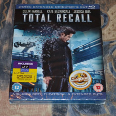 Film - Total Recall 2012 [2-Disc Extended Director's Cut], Import Uk - Film SF sony pictures, BLU RAY, Engleza
