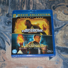 Film - National Treasure 1 & 2 Double Pack [2 Discuri Blu-Ray], Import UK - Film actiune disney pictures, Engleza