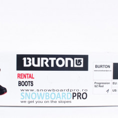 BOOTS SNOWBOARD BURTON PROGRESSION SZ RED 42
