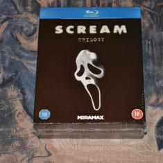Film - Scream Trilogy - Filmele 1-3 [3 Discuri Blu-Ray], Import UK - Film thriller lionsgate, Engleza