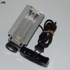 Proiector foto video vintage cu Lampa Philips Holland 3C 220-230V 1000W PH800R - Echipament Foto Studio