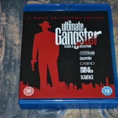 Film - The Ultimate Gangster Movie Collection [5 Filme - 5 Discuri Blu-Ray], UK - Film actiune universal pictures, Engleza