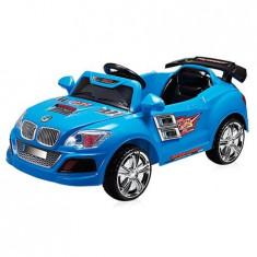 Masinuta electrica BM12 blue 2015 - Masinuta electrica copii Chipolino