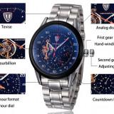 Tevise Automatic Mechanical Male Watch - Ceas barbatesc, Casual, Mecanic-Automatic, Analog, Diametru carcasa: 45