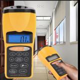 Aparat de masura distante arii volume cu laser si ultrasunete cu afisaj LCD