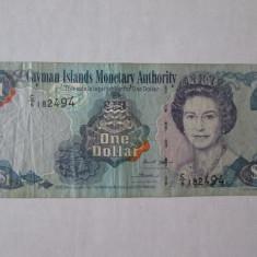 INSULELE CAYMAN 1 DOLLAR 2006 - bancnota america
