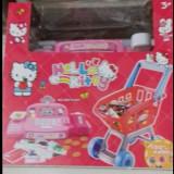 Casa marcat cu accesorii Hello Kitty