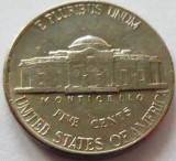 Moneda 5 Centi / Five Cents - SUA, anul 1992 P *cod 3520, America de Nord