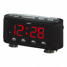 Ceas digital led alarma Radio FM AM VST-741 - Radio cu ceas