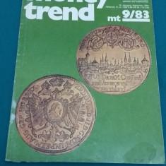 REVISTĂ NUMISMATICĂ/MONEY TREND/ NR. 9*1983/ TEXT LIMBA GERMANĂ