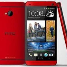 Htc m7 red - Telefon mobil HTC One, Rosu, 32GB, Neblocat, Single SIM