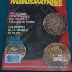 REVISTĂ NUMISMATICĂ/ NUMISMATIQUE ET CHANGE/ LIMBA FRANCEZĂ/NR. 159*1987