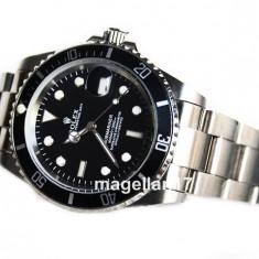 ROLEX SUBMARINER Black Dial ! ! ! Calitate Premium ! Cutie Cadou ! ! ! - Ceas barbatesc Rolex, Mecanic-Automatic, Inox, Data, Analog