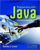 Radhika grover programming with java cd inclus