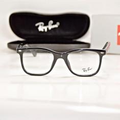 Rama de ochelari de vedere Ray Ban RB 5248 A 2000, Unisex, Negru, Patrate, Plastic, Rama intreaga