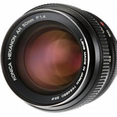 Konica 50mm F1.4 pentru Fuji Sony m4/3 Olympus Panasonic Samsung NX - Obiectiv DSLR Olympus, Standard, Manual focus, Sony - E