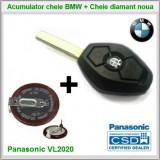 Baterie VL2020 Panasonic + Cheie diamant BMW E36/46 E38/39 E60/65/66
