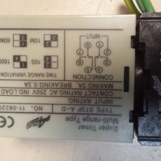 Temporizator electromecanic