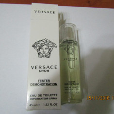 NOU!TESTER 45 ML-VERSACE EROS -SUPER PRET, SUPER CALITATE! - Parfum barbati Versace, Apa de toaleta
