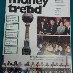 REVISTĂ NUMISMATICĂ/MONEY TREND NR. 10/1997/ TEXT LIMBA GERMANĂ