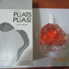 PARFUM TESTER ISSEY MIAKE PLEATS PLEASEE -- `100 ML ---SUPER PRET, SUPER CAL! - Parfum femeie Issey Miyake, Apa de toaleta