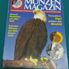 REVISTĂ NUMISMATICĂ/ MUNZEN SAMMELN/NR. 4* 1993/ TEXT LIMBA GERMANĂ