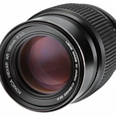 Konica 135mm F3.5 pentru Fuji Sony m4/3 Olympus Panasonic Samsung NX - Obiectiv DSLR Olympus, Tele, Manual focus, Sony - E