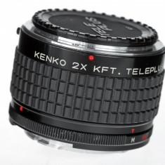 Konica - Kenko MC 2x dublor de focala - Teleconvertor Obiectiv Foto
