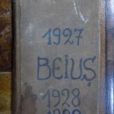Caiet de note manuscrise 1927-1929