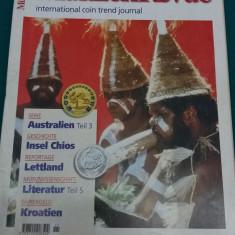 REVISTĂ NUMISMATICĂ/ MUNZEN REVUE/ LIMBA GERMANĂ/NR. 11*1999
