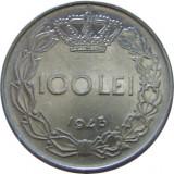 ROMANIA, 100 LEI 1943 * cod 61