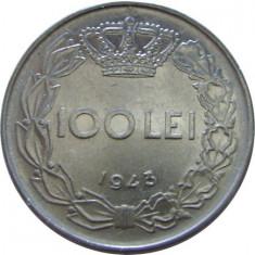 ROMANIA, 100 LEI 1943 * cod 61 - Moneda Romania