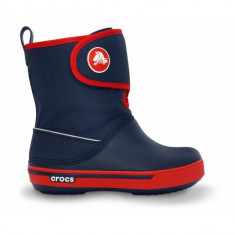 Cizme de iarna pentru copii Crocs Crocband II.5 Gust Boot Kids (CRC12905-NAVX ) - Cizme copii Crocs, Marime: 23.5, 27.5, 34.5, Culoare: Bleumarin