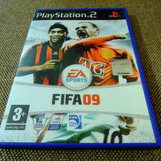 Fifa 09, PS2, original, alte sute de jocuri! - Jocuri PS2 Ea Sports, Sporturi, 3+, Multiplayer
