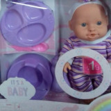 Papusa bebelus cu olita si accesorii