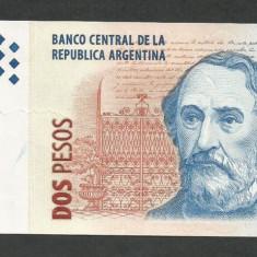 ARGENTINA 2 PESOS 2002 Semnaturi Prat Gay Camaro [1] P-352a.2 - bancnota america