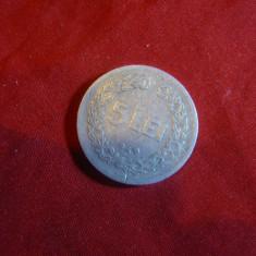 Moneda 5 Lei 1949, aluminiu, cal. Buna - Moneda Romania