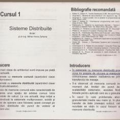Sisteme Distribuite - curs (Automatică Iași) - Curs IT & C