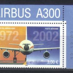 FRANTA 2002, Aviatie, serie neuzata, MNH - Timbre straine, Nestampilat