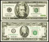 SUA -  20$ 1995-1996 - Premium Historical Portfolio - Philadelphia and Richmond