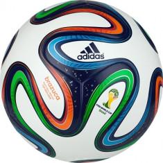 MINGE FOTBAL ADIDAS BRAZUCA TOP REPLIQUE LAMINATA FIFA INSPECTED - ORIGINALA!, Marime: 5