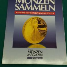 REVISTĂ NUMISMATICĂ/ MUNZEN SAMMELN/ 1992/ TEXT LIMBA GERMANĂ
