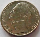 Moneda 5 Centi / Five Cents - SUA, anul 1992 P *cod 3519, America de Nord