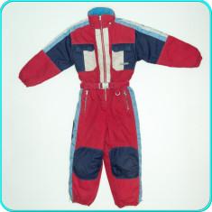 Salopeta de ski / iarna, KIDS FASHION _ baieti, fete   7 - 8 ani   122 - 128 cm, Marime: Alta, Culoare: Rosu, Unisex
