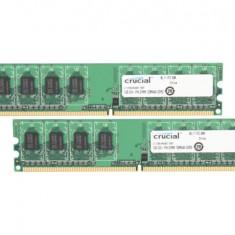 Memorie 2 gb ddr 2 800 - Memorie RAM Crucial