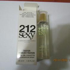 NOU!TESTER 45 ML-C.H 212 SEXY -SUPER PRET, SUPER CALITATE! - Parfum femeie Carolina Herrera, Apa de parfum