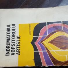 Indrumatorul vopsitorului artistic de v constantinescu - Carte amenajari interioare