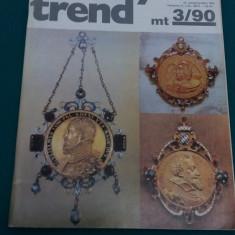 REVISTĂ NUMISMATICĂ/ MONEY TREND/ NR. 3*1990/ TEXT LIMBA GERMANĂ